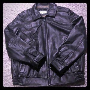Calvin Klein 100% leather jacket